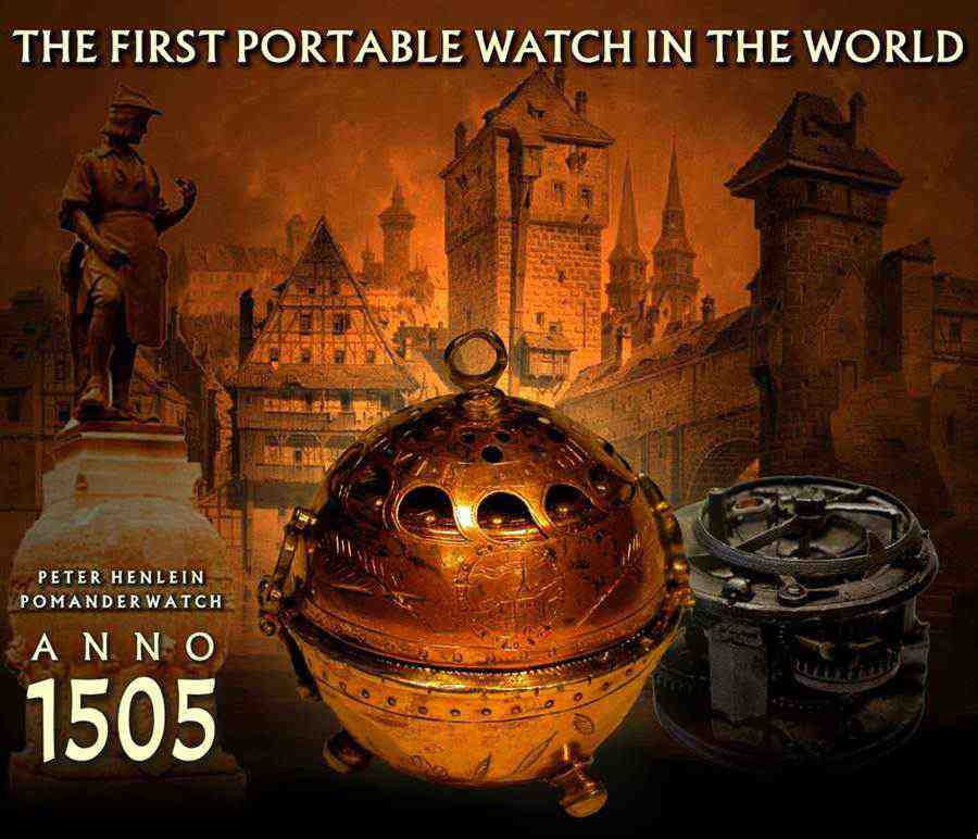 Jam portabel pertama