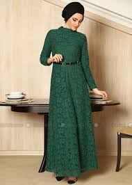 long dress brokat